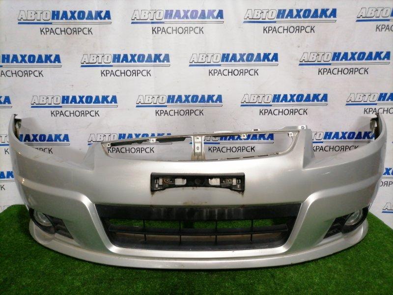 Бампер Suzuki Sx-4 YA11S M15A 2006 передний Передний, дорестайлинг, с туманками, накладкой