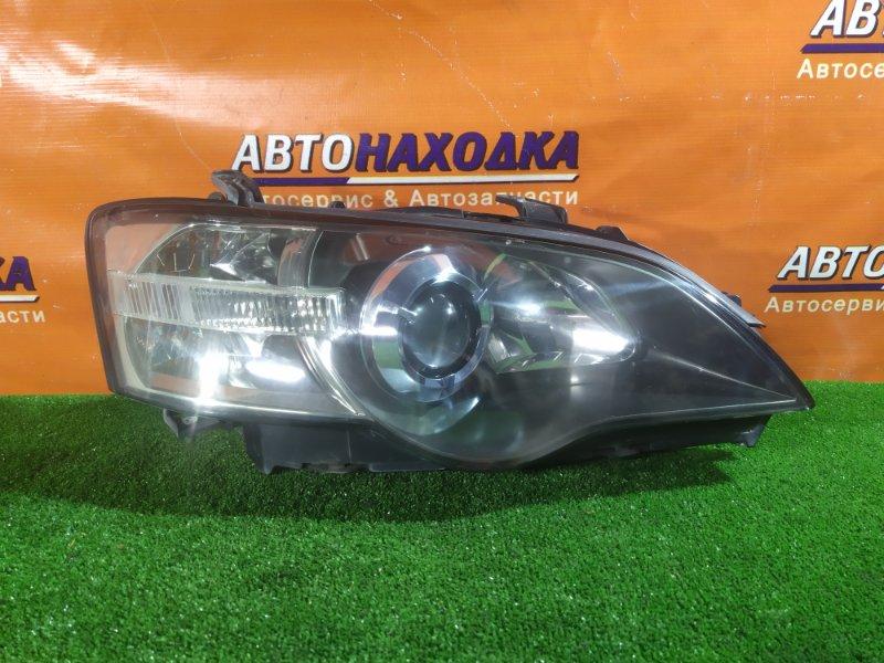 Фара Subaru Legacy BL5 EJ20 передняя правая 100-20791 КСЕНОН. БЕЗ ЛАМПЫ. КОРРЕКТОР, ГОЛУБОЙ ГЛАЗ