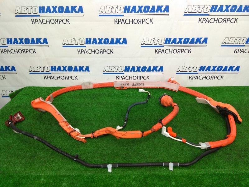 Электропроводка Toyota Aqua NHP10 1NZ-FXE 2011 коса высоковольтной батареи