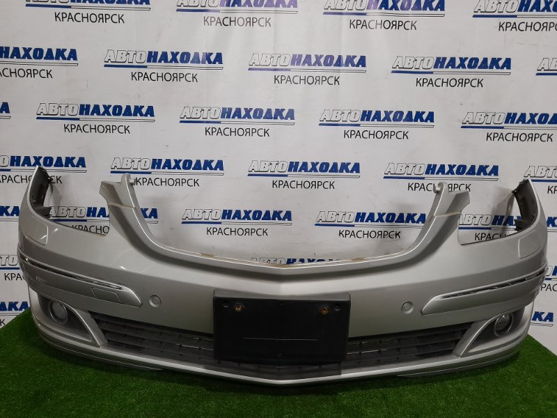Бампер Mercedes-Benz B200 W245 266.960 2005 передний Передний, дорестайлинг, с противотуманками,