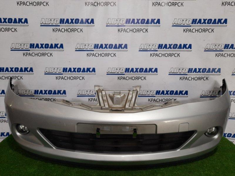 Бампер Nissan Tiida C11 HR15DE 2008 передний 620221JY0H передний, рестайлинг, с туманками. Есть