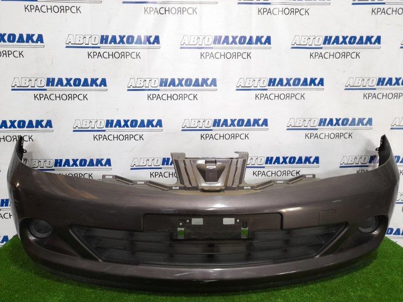 Бампер Nissan Tiida C11 HR15DE 2008 передний 620221JY0H передний, рестайлинг, с заглушками, есть