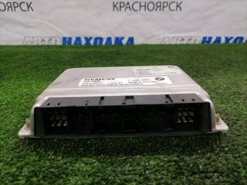 Компьютер Bmw 320I E46 M52 B20TU 1998 5WK9037 блок управления ДВС