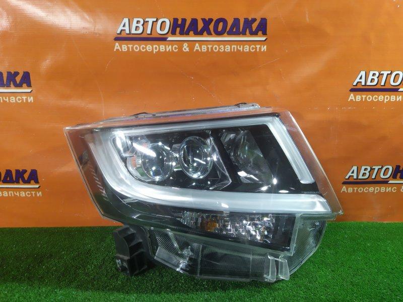 Фара Daihatsu Move L150S EF-VE передняя правая 100-69010 LED, ДЕФЕКТ ВЕРХНЕГО КРЕПЛЕНИЯ.ЦАРАПИНА