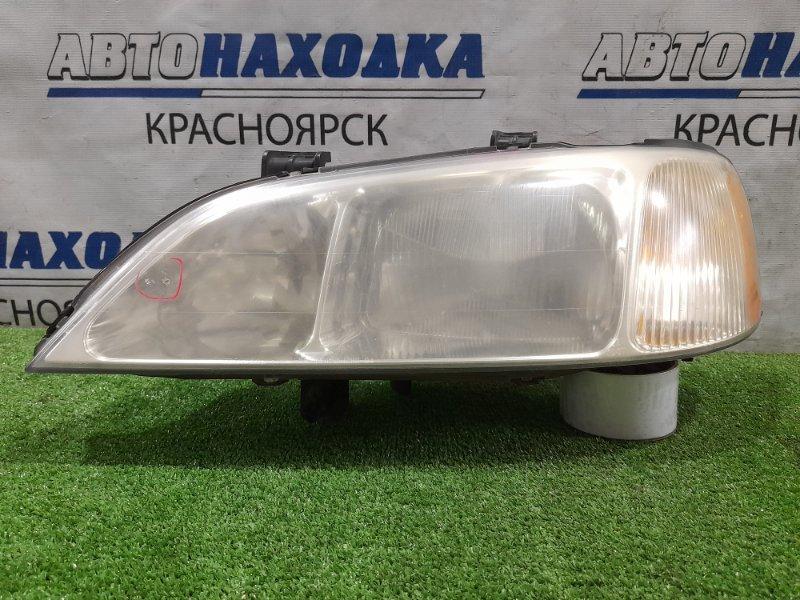 Фара Honda Saber UA4 J25A 1998 передняя левая R7461 Дорестайлинг, левая, под ксенон без блока и лампы,