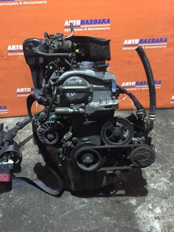 Двигатель Suzuki Wagon R MH21S K6A 2003 6799843 №6799843 72т.км в сборе кроме коллектора