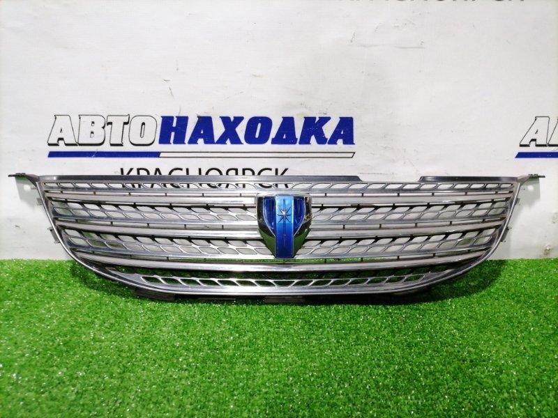 Решетка радиатора Toyota Mark Ii Blit GX110W 1G-FE 2002 передняя 53101-22550 есть потертости.