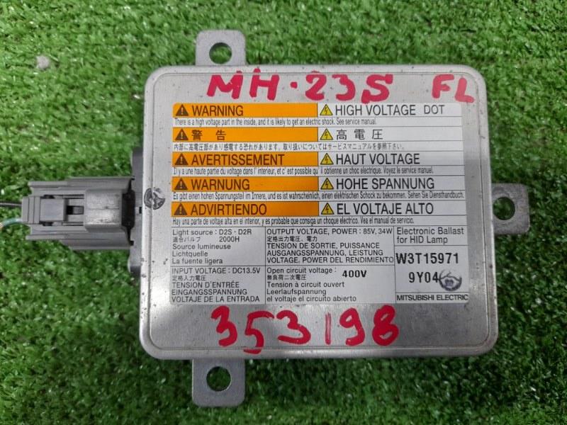 Блок розжига ксенона Suzuki Wagon R MH23S K6A 2008 W3T15971 Под лампу D2R/D2S