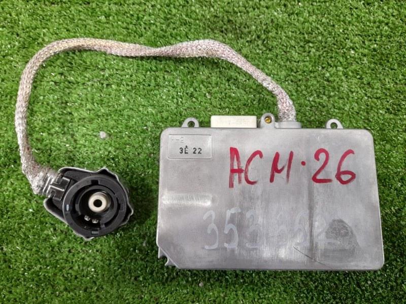 Блок розжига ксенона Toyota Ipsum ACM26W 2AZ-FE 2001 D2R, D2S, 35W, 12V