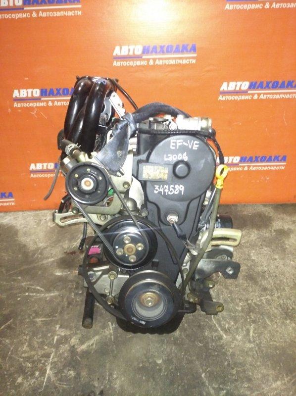 Двигатель Daihatsu Mira L700S EF-VE 1998 6212766 ХТС 74т.км частично без навесного. Гарантия на