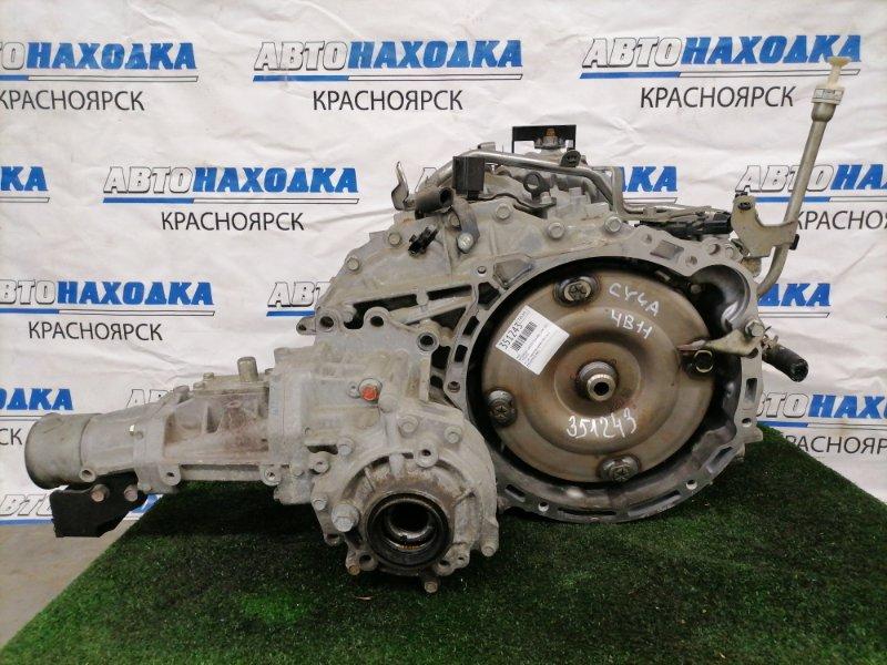 Акпп Mitsubishi Lancer CY4A 4B11 2007 W1CJA-2 W1CJA-2 вариатор, 4WD, пробег 106 т.км. С аукционного авто.