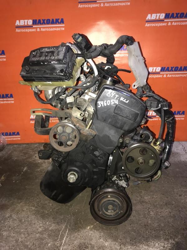 Двигатель Toyota Corolla Ii EL51 4E-FE 1994 1656301, Трамблерный. 84т.км частично без навесного/без