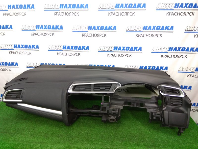 Airbag Honda Fit GP5 LEB 2013 передний левый панель (торпедо) с подушкой, без заряда, черный ( код