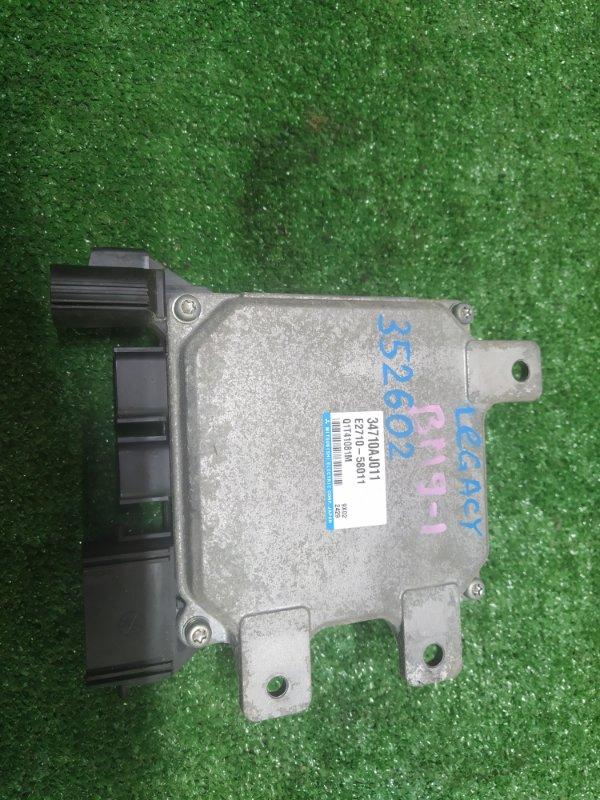 Блок управления рулевой рейкой Subaru Legacy BM9 EJ255 10.2009 34710AJ011