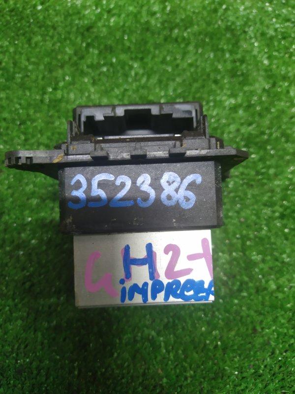Реостат печки Subaru Impreza GH2 EL154 11.2009 T1001553N-B04
