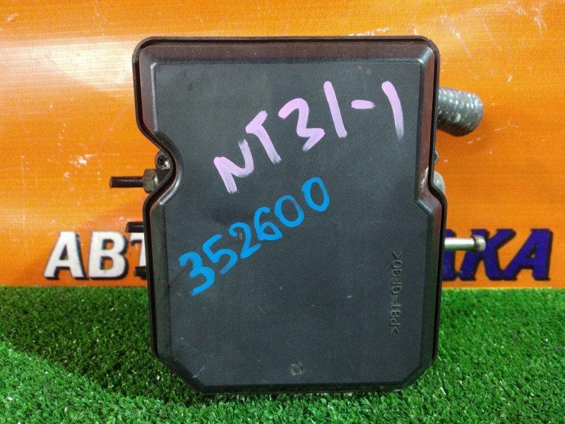 Блок abs Nissan X-Trail NT31 MR20DE 08.2007 47660-JG00A, AN7712K0075