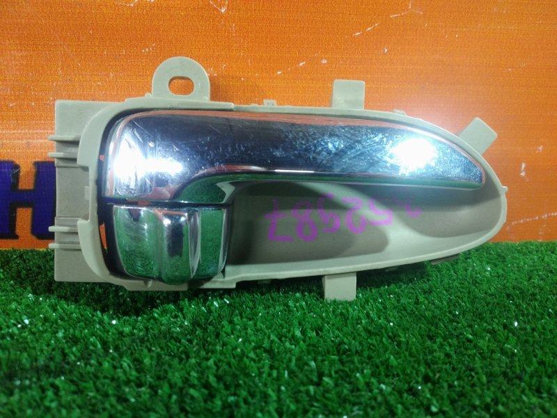 Ручка внутренняя Nissan Bluebird Sylphy KG11 MR20DE 02.2006 передняя правая
