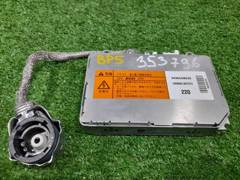 Блок розжига ксенона Subaru Legacy BP5 EJ20 2006 D2, 12V