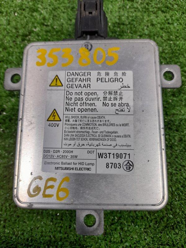 Блок розжига ксенона Honda Fit GE6 L13A 20074 D2R/D2S, 35W, 12V