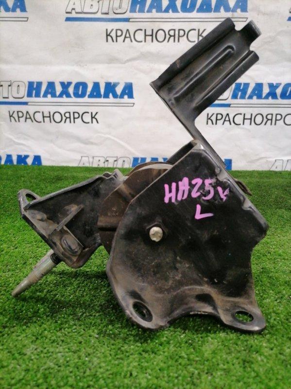 Подушка двигателя Suzuki Alto HA25V K6A 2009 левая левая, пробег 48 т.км.