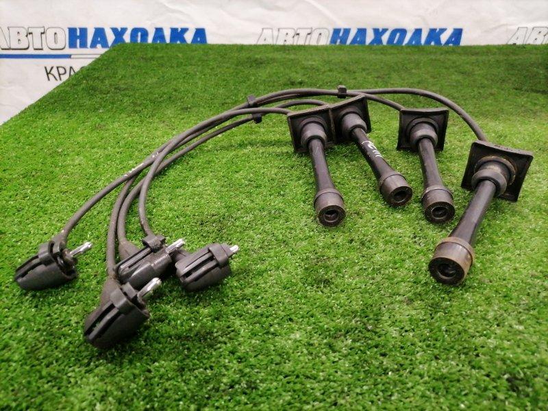 Провод высоковольтный Toyota Corolla AE110 5A-FE 1997 комплект 4 шт.