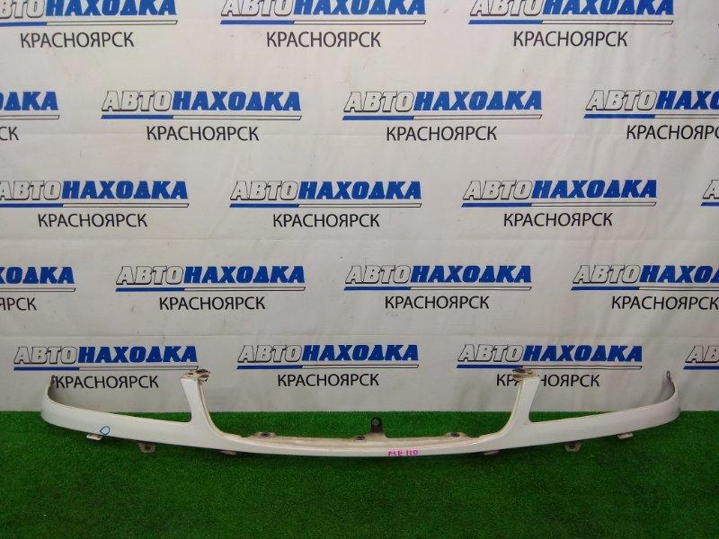 Планка под фару Toyota Corolla AE110 5A-FE 1997 передняя рестайлинг, белая (040), есть вмятинка,