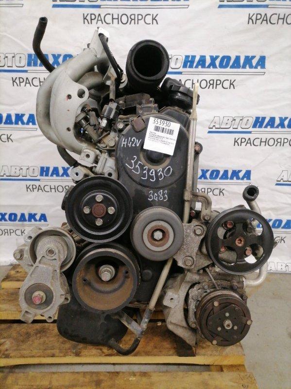 Двигатель Mitsubishi Minica H42V 3G83 1998 414288 № 414288 2007 г.в. Пробег 43 т.км. Есть видео работы ДВС.
