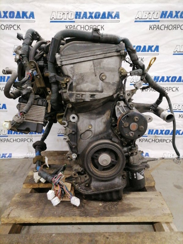 Двигатель Toyota Rav4 ACA21W 1AZ-FSE 2000 4368836 1AZ-FSE № 4368836. Пробег 80т.км. Без навесного, на ДВС: