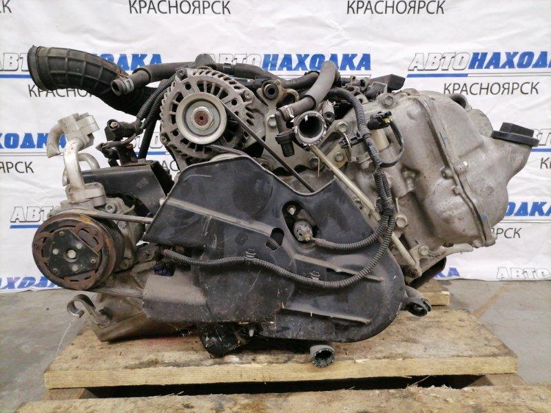 Двигатель Mazda Scrum DG17V R06A 2015 1649459 R06A (лежачий) № 1649459. Пробег 61т. км. На ДВС: впускной