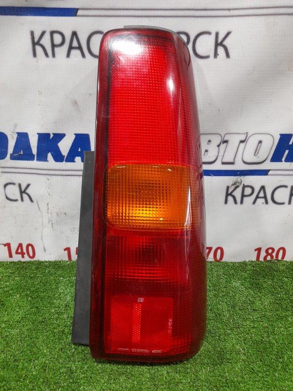 Фонарь задний Suzuki Jimny JB23W K6A 1998 задний правый 220-32081 Правый 220-32081, есть потертости под