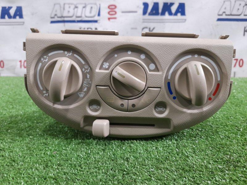 Климат-контроль Suzuki Alto HA25V K6A 2009 механический, есть незначительный дефект корпуса