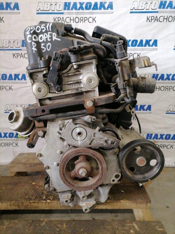 Двигатель Mini Hatch R50 W10B16AB 2001 D226R050 W10B16AB № D226R050. На ДВС: коллектор впускной
