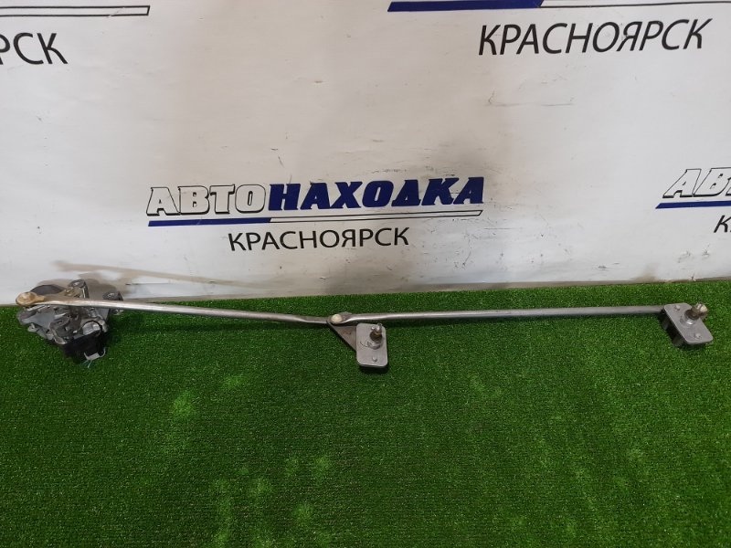 Мотор дворников Nissan Vanette SKF2VN RF-T 1999 передний 849200-7191 передний, в сборе с трапецией