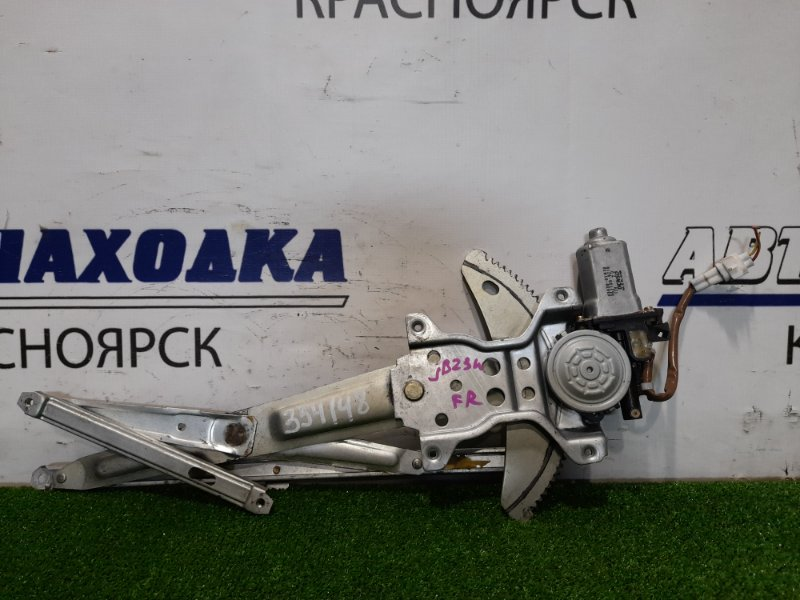 Стеклоподъемник Suzuki Jimny JB23W K6A-T 1998 передний правый 83430-81A10 правый, 2 контакта