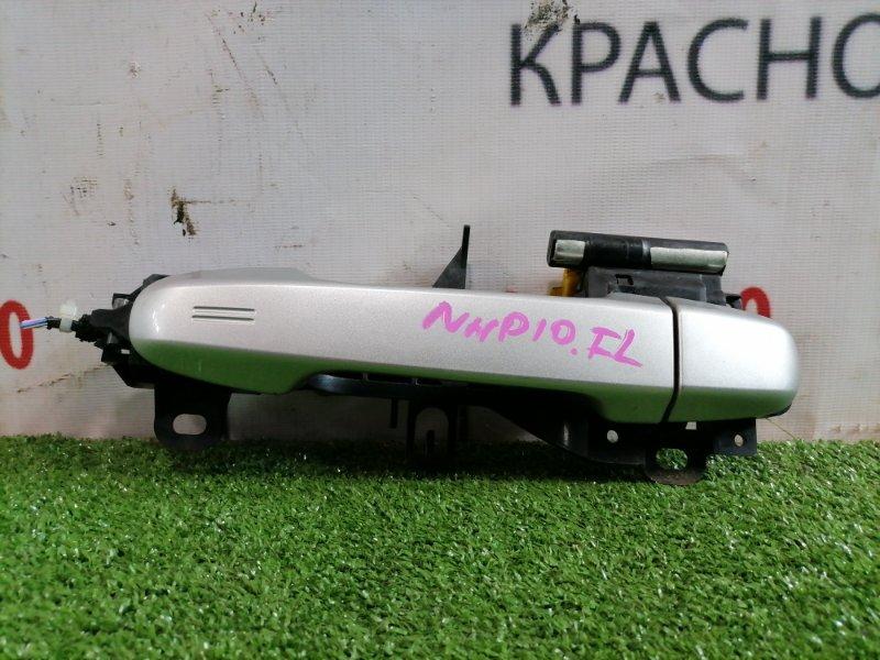Ручка внешняя Toyota Aqua NHP10 1NZ-FXE 2011 передняя левая Передняя левая