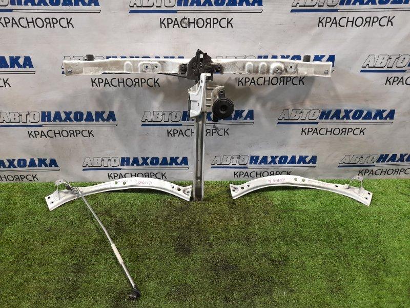 Рамка радиатора Toyota Aqua NHP10 1NZ-FXE 2011 передняя верхняя верхняя часть рамки с планками под