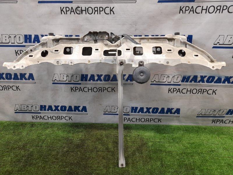 Рамка радиатора Toyota Ractis NCP100 1NZ-FE 2005 передняя верхняя верхняя часть с замком, с сигналом +