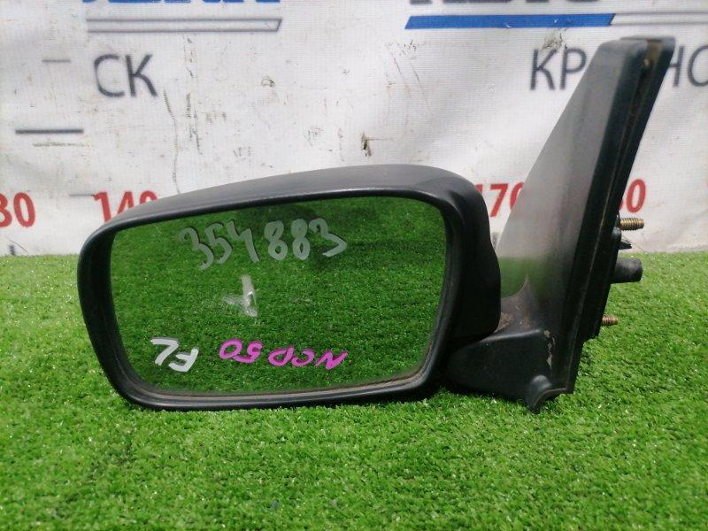 Зеркало Toyota Probox NCP50V 2NZ-FE 2002 переднее левое Переднее левое, механическое