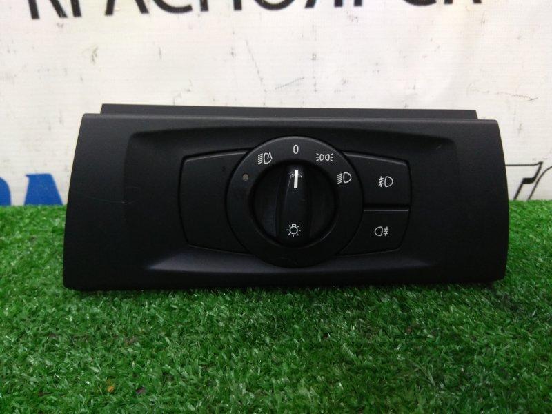 Переключатель света Bmw 320I E90 N46B20 2005 Переключатель света фар, левый = правый руль