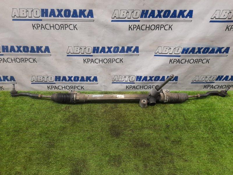 Рейка рулевая Mazda Demio DE3FS ZJ-VE 2007 сухая, в сборе с тягами и наконечниками
