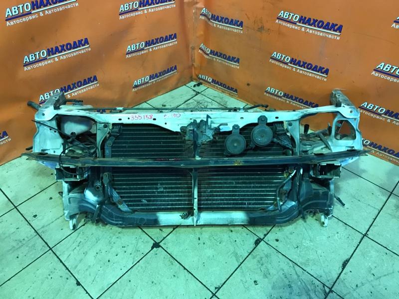 Рамка радиатора Toyota Carina ST190 4S-FE 10.1993 +ЗАМОК КАПОТА. +ТРОС КАПОТА. +СИГНАЛЫ. +УСИЛИТЕЛЬ