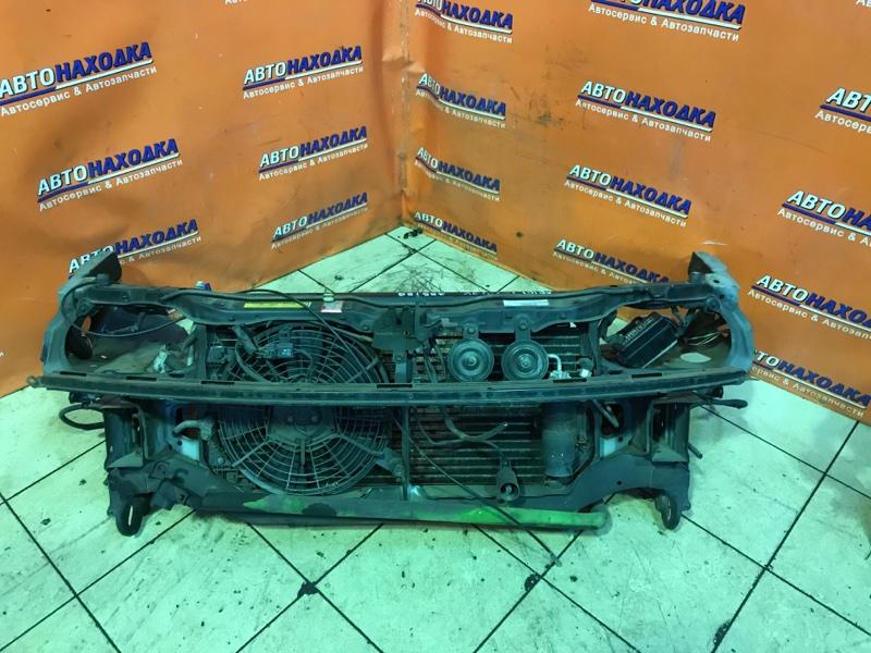 Рамка радиатора Toyota Corolla Ceres AE101 4A-FE 04.1995 +РАДИАТОР КОНДИЦИОНЕРА +ВЕНТИЛЯТОР