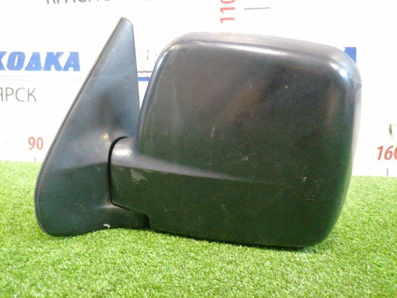 Зеркало Suzuki Jimny JB23W K6A 1998 переднее левое Механическое, есть потертости