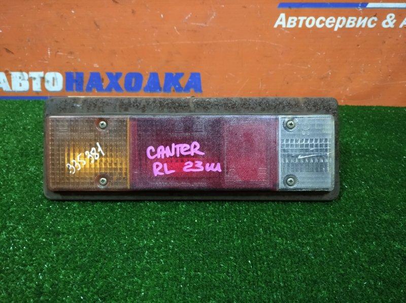 Фонарь задний Mitsubishi Canter FB501B 4M40 1996 задний левый 1146-220 есть трещина