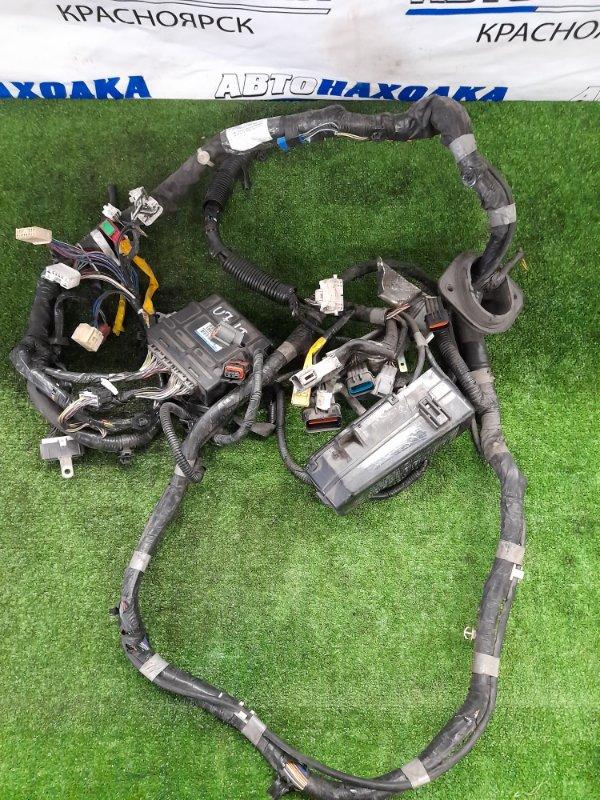 Проводка двс Nissan Clipper U71T 3G83 2003 коса ДВС с блоком предохранителей и ЭБУ 1860A874 \ E6T44882.