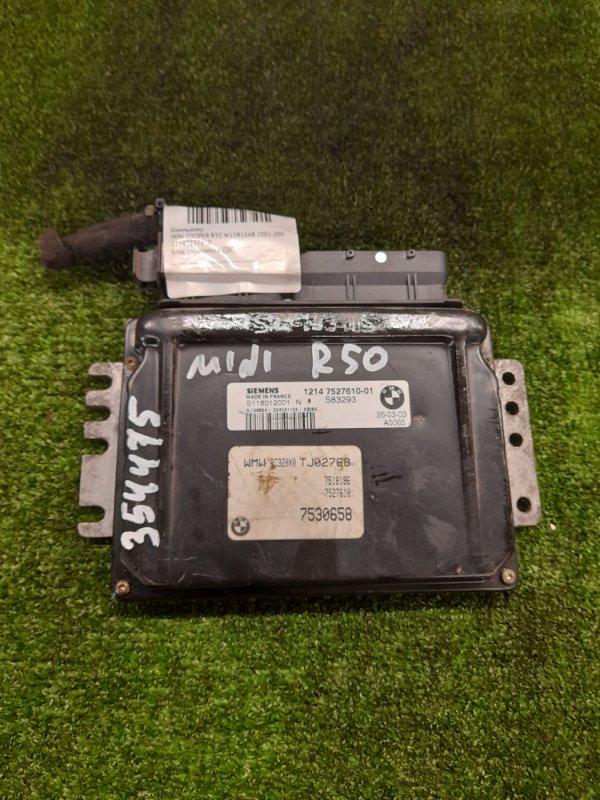 Компьютер Mini Cooper R50 W10B16AB 2001 12147527610 блок управления ДВС