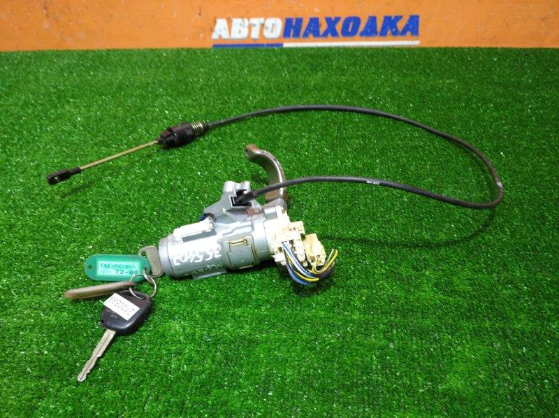 Замок зажигания Toyota Probox NCP50V 2NZ-FE 2002 трос+2 ключа*один сломан
