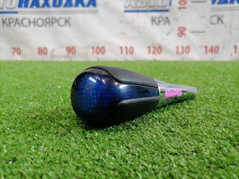Ручка кпп Toyota Aqua NHP10 1NZ-FXE 2011 рукоятка рычага АКПП (набалдашник)