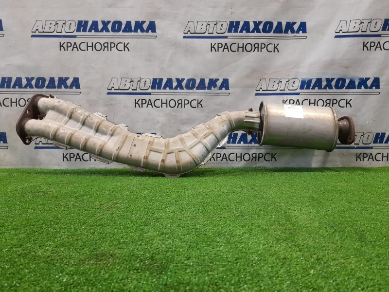 Глушитель Toyota Altezza GXE10 1G-FE 2001 труба приемная с резонатором. ХТС, пробег 89 т.км.