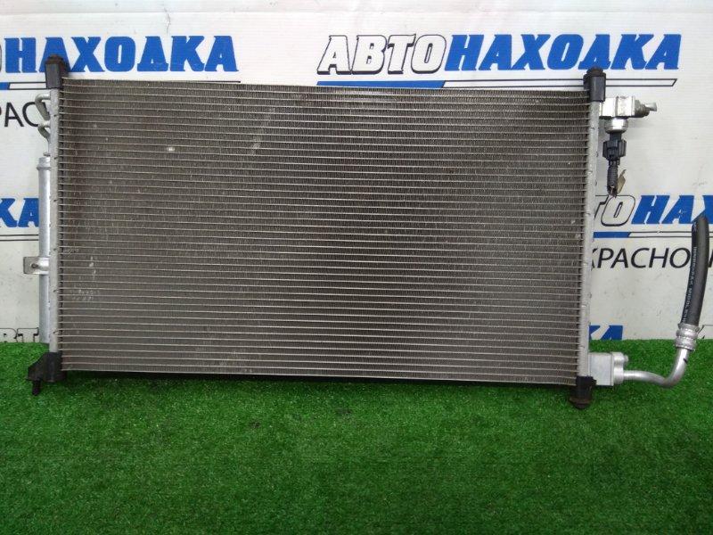 Радиатор кондиционера Nissan Tiida C11 HR15DE 2008 ХТС, с осушителем, пробег 28 т.км